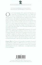 Dictionnaire Historique De Sainte-Helene - 4ème de couverture - Format classique