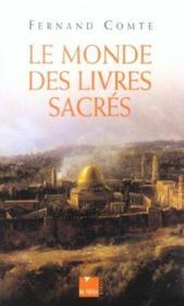 Le monde des livres sacres - Couverture - Format classique