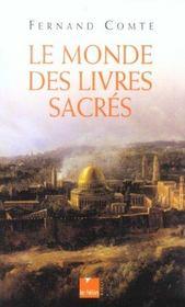 Le monde des livres sacres - Intérieur - Format classique