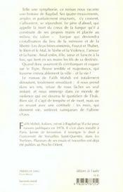 Prieres De Sang - 4ème de couverture - Format classique