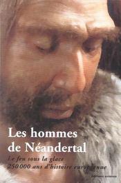 Les Hommes De Neandertal - Intérieur - Format classique