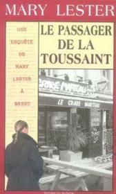 MARY LESTER ; mary lester t.29 ; le passager de la toussaint - Couverture - Format classique