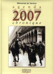 Agenda chronique (1917-2007) - Intérieur - Format classique