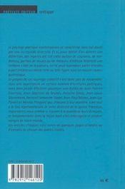 Singularites Du Sujet - 4ème de couverture - Format classique