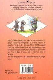 La Famille Taupe Tatin Toujours Plus Haut - 4ème de couverture - Format classique