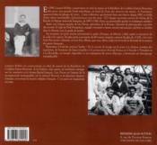 La royale à la Belle époque ; photographies d'un marin ordinaire... - 4ème de couverture - Format classique