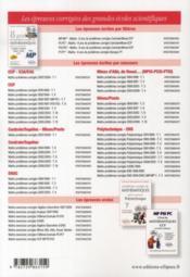 Questionnements automatisables de mathématiques aux concours ENAC 2007-2010 t.3 - 4ème de couverture - Format classique