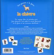 La chèvre - 4ème de couverture - Format classique