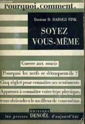 Soyez Vous Meme (Be Your Real Self). - Couverture - Format classique