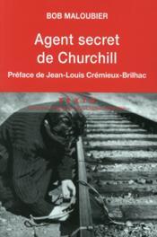 Agent secret de Churchill - Couverture - Format classique