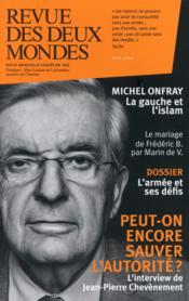Revue Des Deux Mondes ; L'Armée Et Ses Défis - Couverture - Format classique