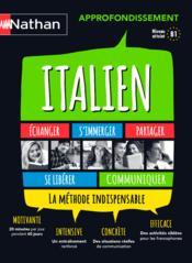 Italien ; approfondissement (édition 2015) - Couverture - Format classique