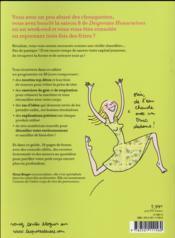 Le cahier détox des paresseuses - 4ème de couverture - Format classique