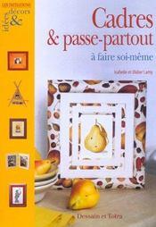 Cadres Et Passe Partout A Faire Soi-Meme - Intérieur - Format classique