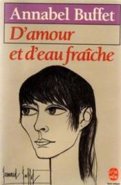 D'Amour Et D'Eau Fraiche - Couverture - Format classique