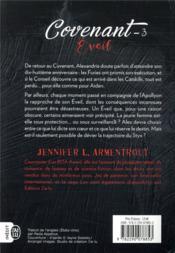 Covenant T.3 ; éveil - 4ème de couverture - Format classique