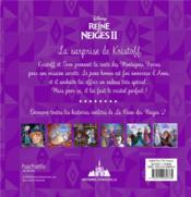 La Reine des Neiges 2 ; histoires d'Arendelle t.6 ; la surprise de Kristoff - 4ème de couverture - Format classique