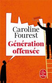 Génération offensée - Couverture - Format classique