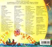Un terrible combat dans le ciel ; an sèl goumen an syèl-la ; bilingue français-créole - 4ème de couverture - Format classique