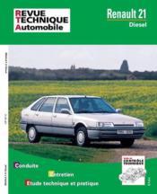 Rta 487.6 Renault 21 Diesel (86-96) - Couverture - Format classique