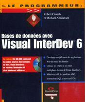 Le Programmeur Bd Avec Visual Interdev 6 - Intérieur - Format classique