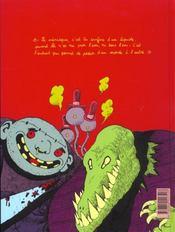 Petit Vampire T.4 ; Petit Vampire et la maison qui avait l'air normal - 4ème de couverture - Format classique