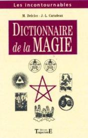Dictionnaire De Magie - Couverture - Format classique