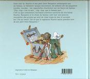 Benjamin et les pirates - 4ème de couverture - Format classique
