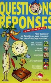 Questions - reponses t.2 - Couverture - Format classique