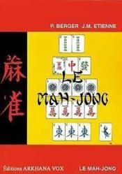 Le Mah-Jong ; traité de jeu - Couverture - Format classique