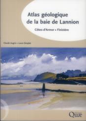 Atlas géologique de la baie de Lannion - Couverture - Format classique