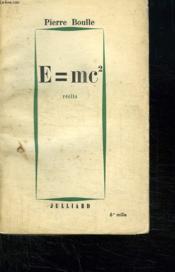 E = Mc2. - Couverture - Format classique
