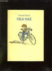 Velo Vole. - Couverture - Format classique