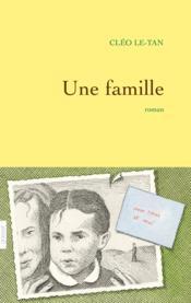 Une famille - Couverture - Format classique
