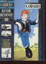 Les Cahiers De La Bande Dessinee N°59 - Dossier Godard - Couverture - Format classique