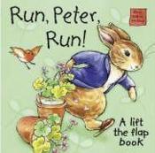 Peter rabbit seedlings: run, peter, run - Couverture - Format classique
