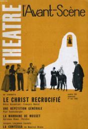 L'AVANT-SCENE - THEATRE N° 264 - LE CHRIST RECRUCIFIE de NIKOS KAZANTZAKI / FRANCOIS DAVIEL - Couverture - Format classique