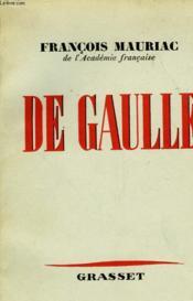 De Gaulle - Couverture - Format classique