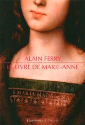 Le livre de Marie-Anne - Couverture - Format classique
