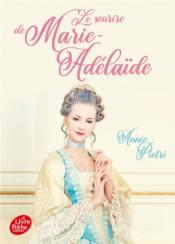 Le sourire de Marie-Adélaïde - Couverture - Format classique