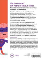 Votre cerveau est votre meilleur allié ! neurostratégies et pratiques pour vous faire du bien - 4ème de couverture - Format classique