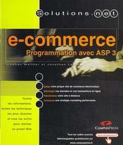 Solutions.Net Commerce Prog Avec Asp 3 - Intérieur - Format classique