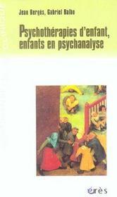 Psychotherapies d'enfant, enfants en psychanalyse - Intérieur - Format classique