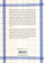 200 recettes de ma grand-mere - 4ème de couverture - Format classique