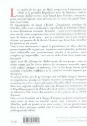 Toussaint Louverture le précurseur - 4ème de couverture - Format classique