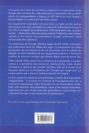 Franc-Maconnerie Et Europe : La Trahison ? - 4ème de couverture - Format classique