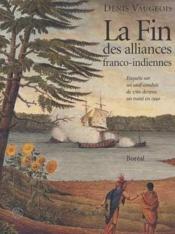 Fin D'Alliances Franco-Indiennes - Couverture - Format classique