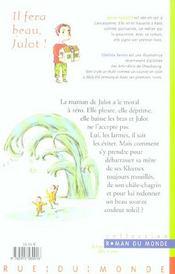 Il Fera Beau, Julot ! - 4ème de couverture - Format classique