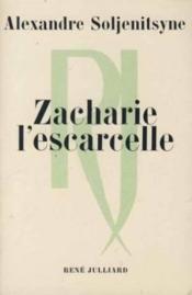 Zacharie l'Escarcelle. Et autres récits - Couverture - Format classique