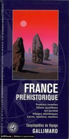 France préhistorique - Couverture - Format classique